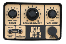 image of Gold Bug 2 control panel